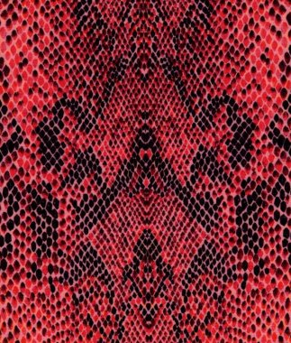 Red reptile skin pattern