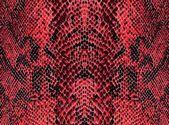 Piros hüllő bőr mintázatú háttérrel