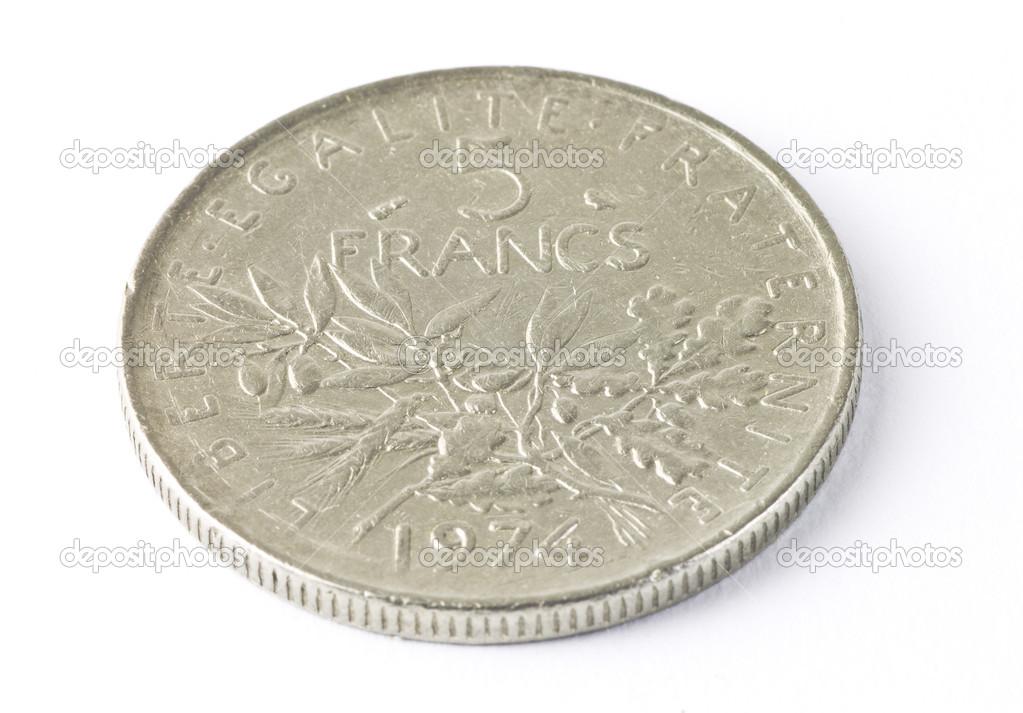 Alte Französische Münze Stockfoto Andrew33 19028767