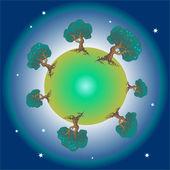 Fotografie green planet