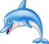 Photo Funny dolphin cartoon