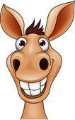 Photo Smiling donkey head