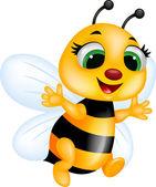 Fotografia cartone animato divertente ape