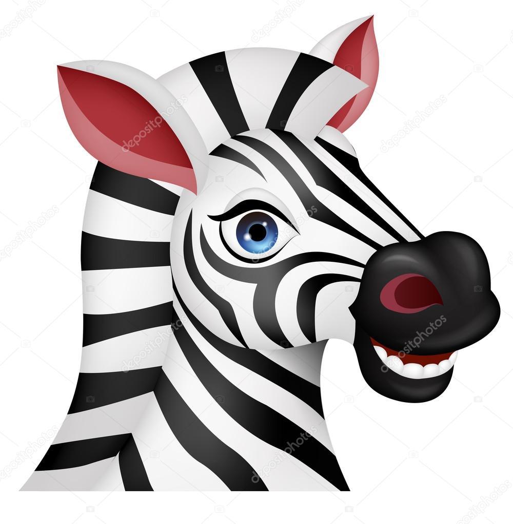 Cartone animato zebra u2014 vettoriali stock © tigatelu #19578853
