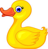 Photo Funny duck cartoon