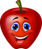 Fotografia personaggio dei cartoni animati di mela rossa