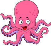 Photo Funny octopus cartoon
