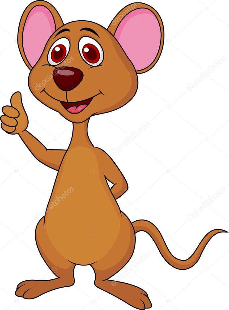 Vector Ratones De Caricaturas Ratón Lindos Dibujos