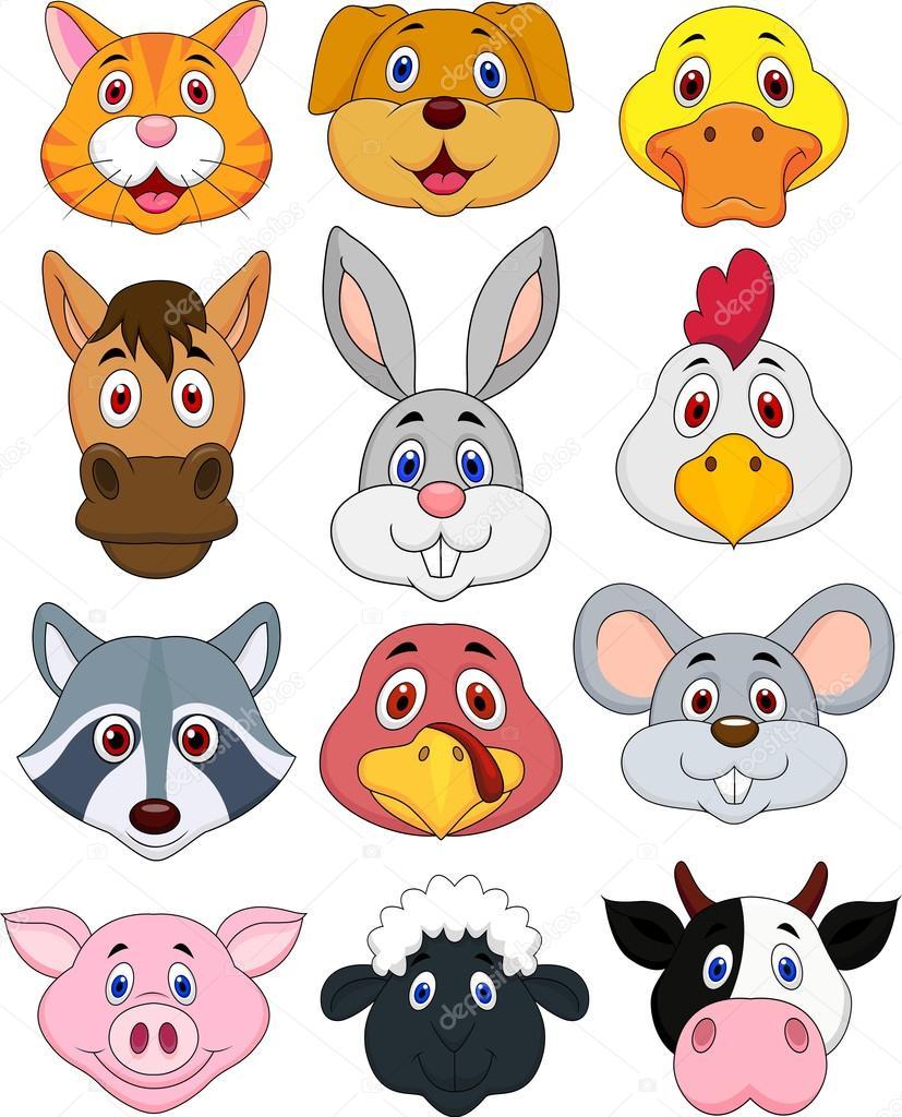 ОВД; мордочки животных в детских картинках обещанный