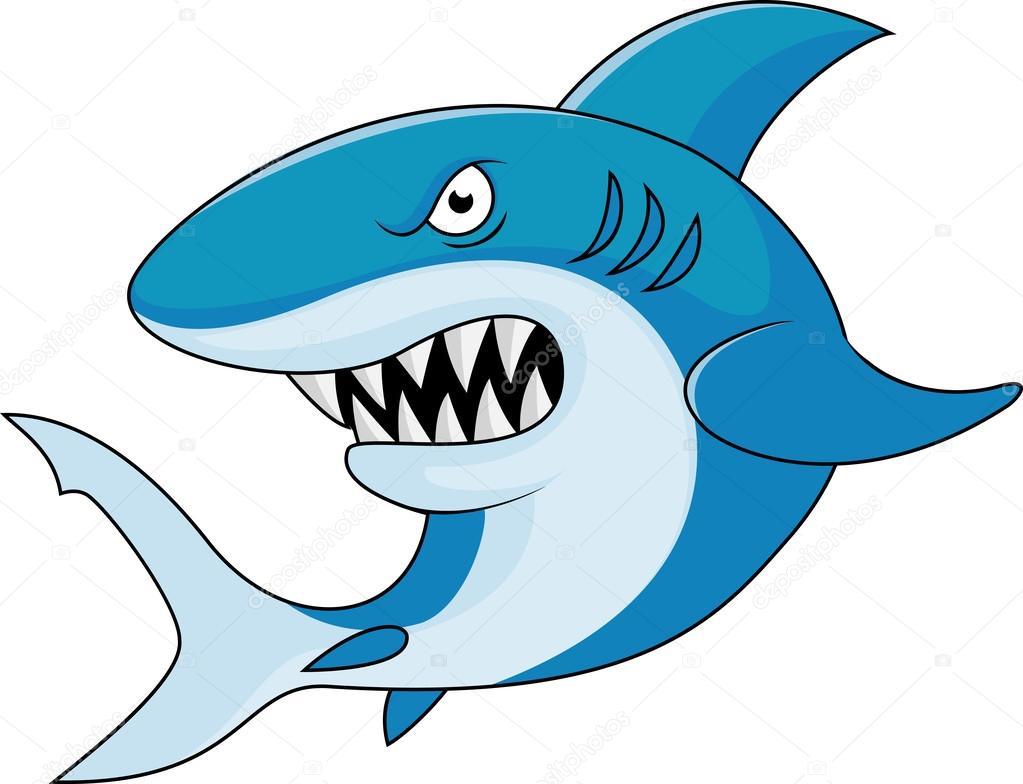 Dibujos Animados De Tiburón