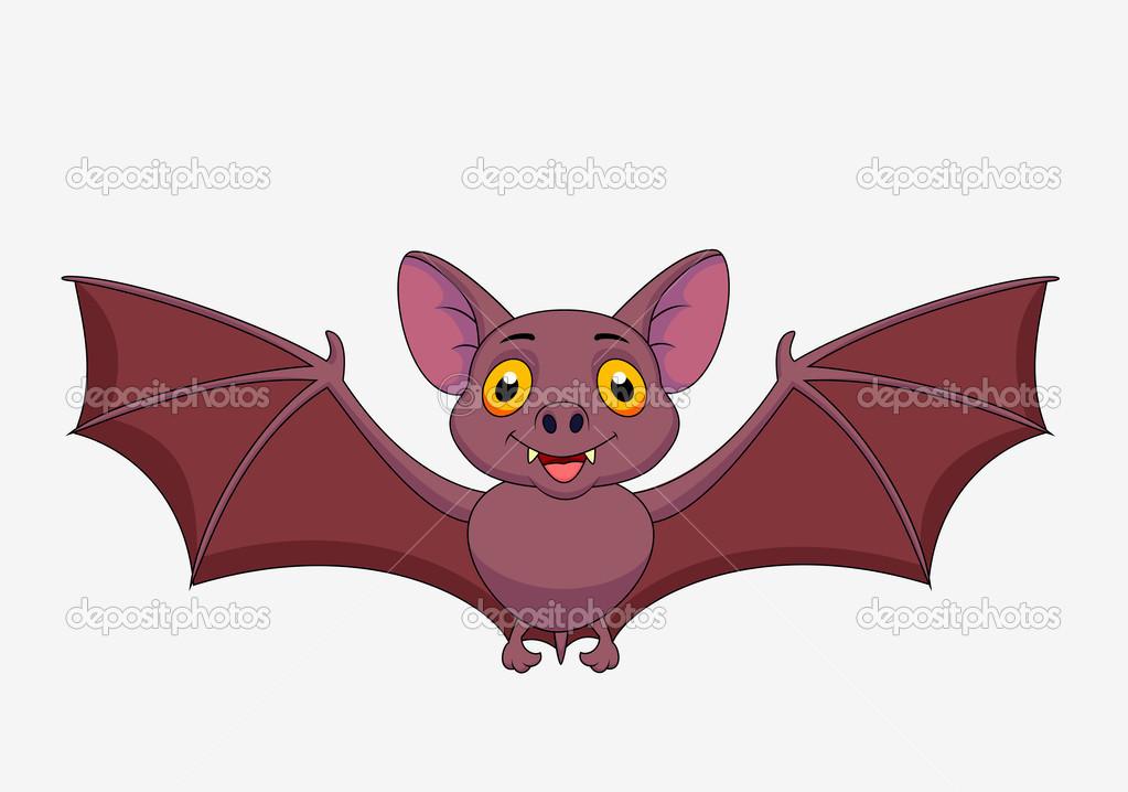 Populares desenho de morcego voando — Vetores de Stock © tigatelu #25389401 XN32