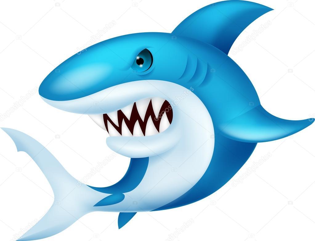 Animado: Dibujo De Un Tiburon