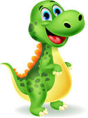 Photo Cute dinosaur cartoon
