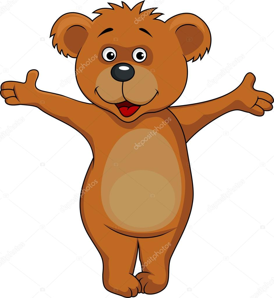 desenho de urso pardo vetor de stock tigatelu 27365615