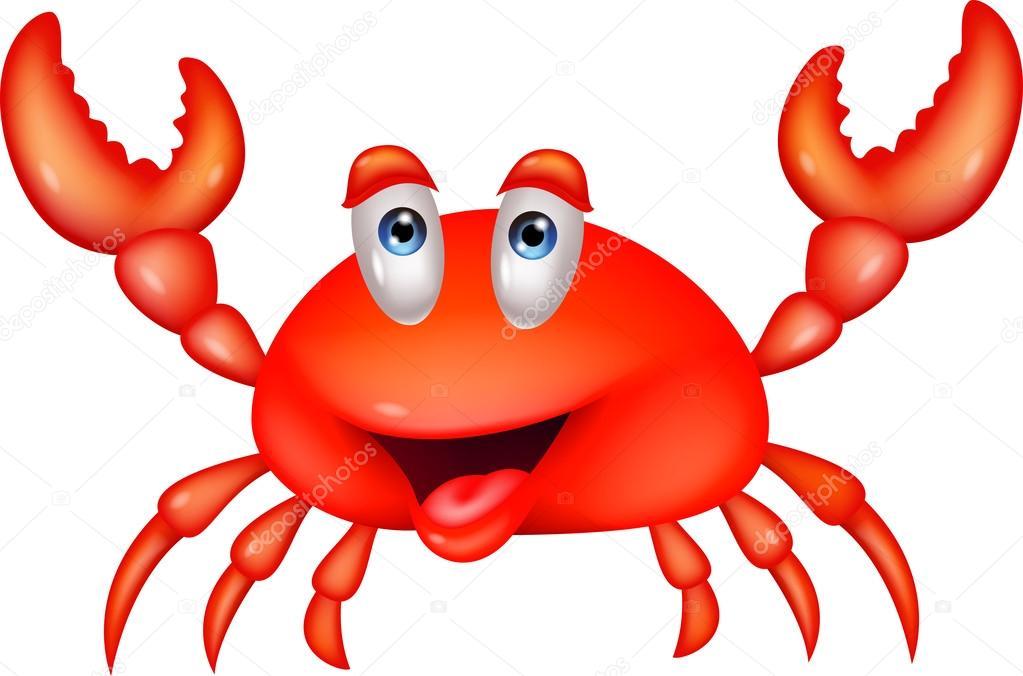 Im genes cangrejo caricatura caricatura lindo cangrejo - Dessiner un crabe ...