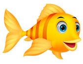 Fotografie roztomilý ryb kreslený