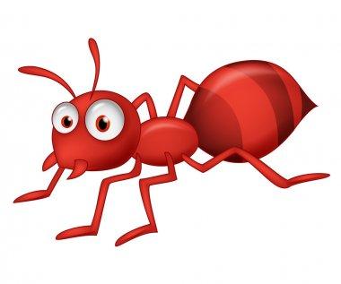 Cute ant cartoon