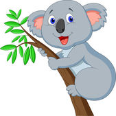 Süße Koala Cartoon