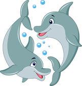 Aranyos delfin pár rajzfilm