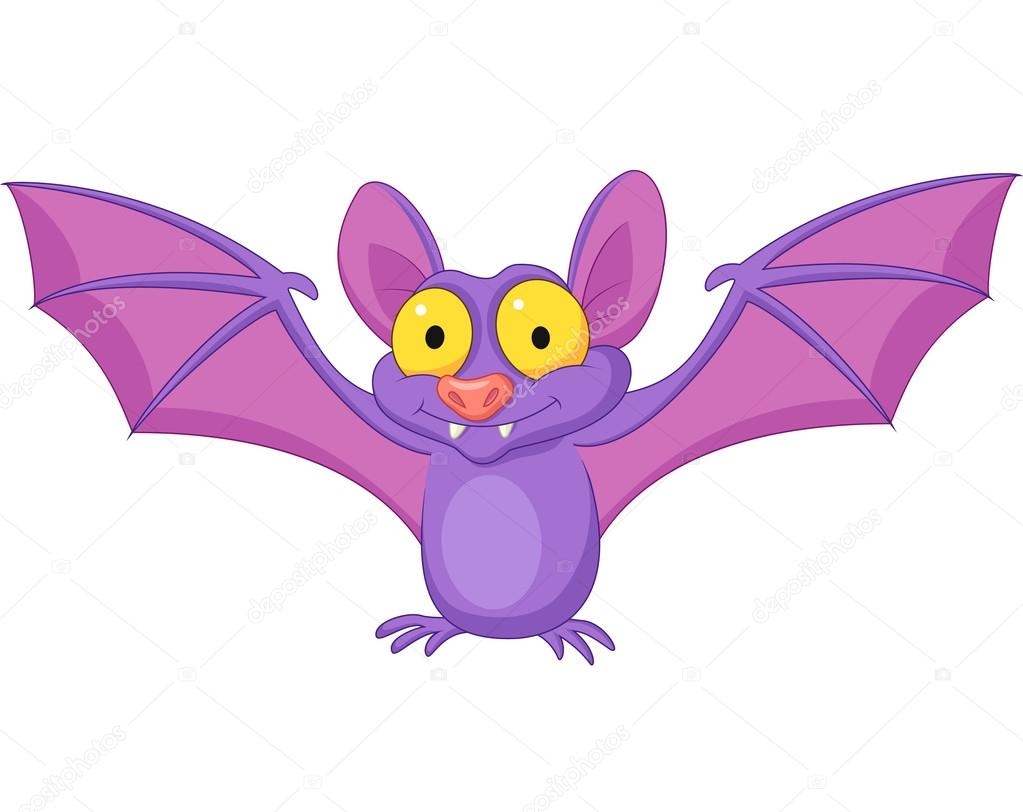 Fabuloso desenho de morcego bonito — Vetor de Stock © tigatelu #27384979 CA27