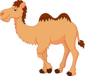 Photo Cute camel cartoon