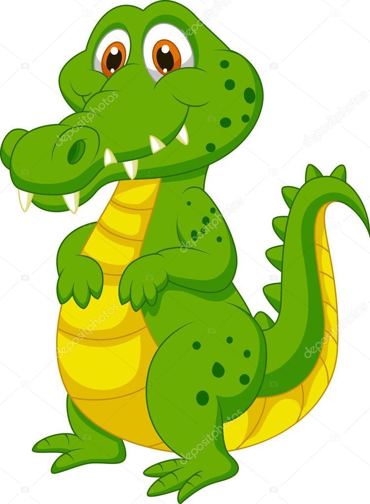 Crocodile dessin anim mignon image vectorielle tigatelu - Image crocodile dessin ...