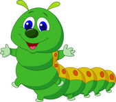 Photo Cute caterpillar cartoon