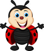 Photo Funny ladybug cartoon