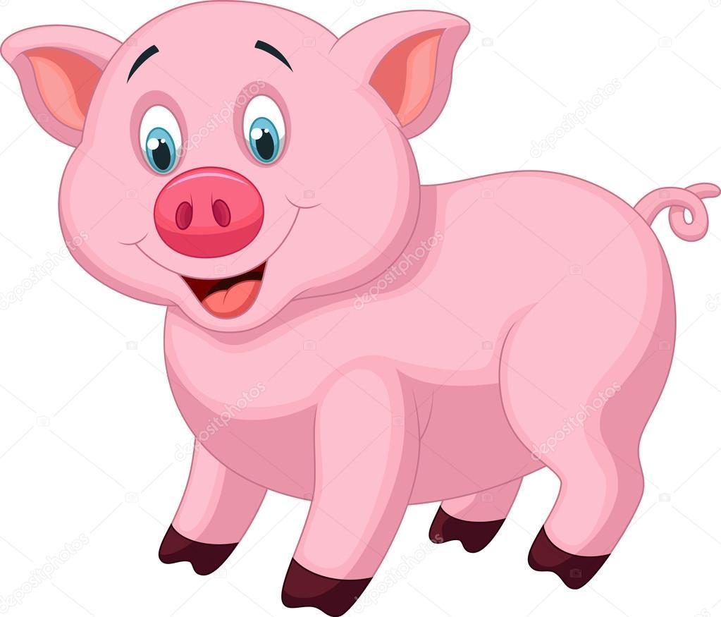 desenho de porco bonito vetor de stock tigatelu 32963041