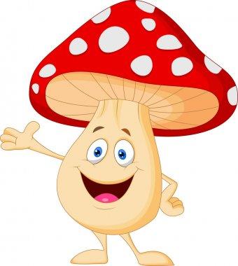 Cute mushroom cartoon