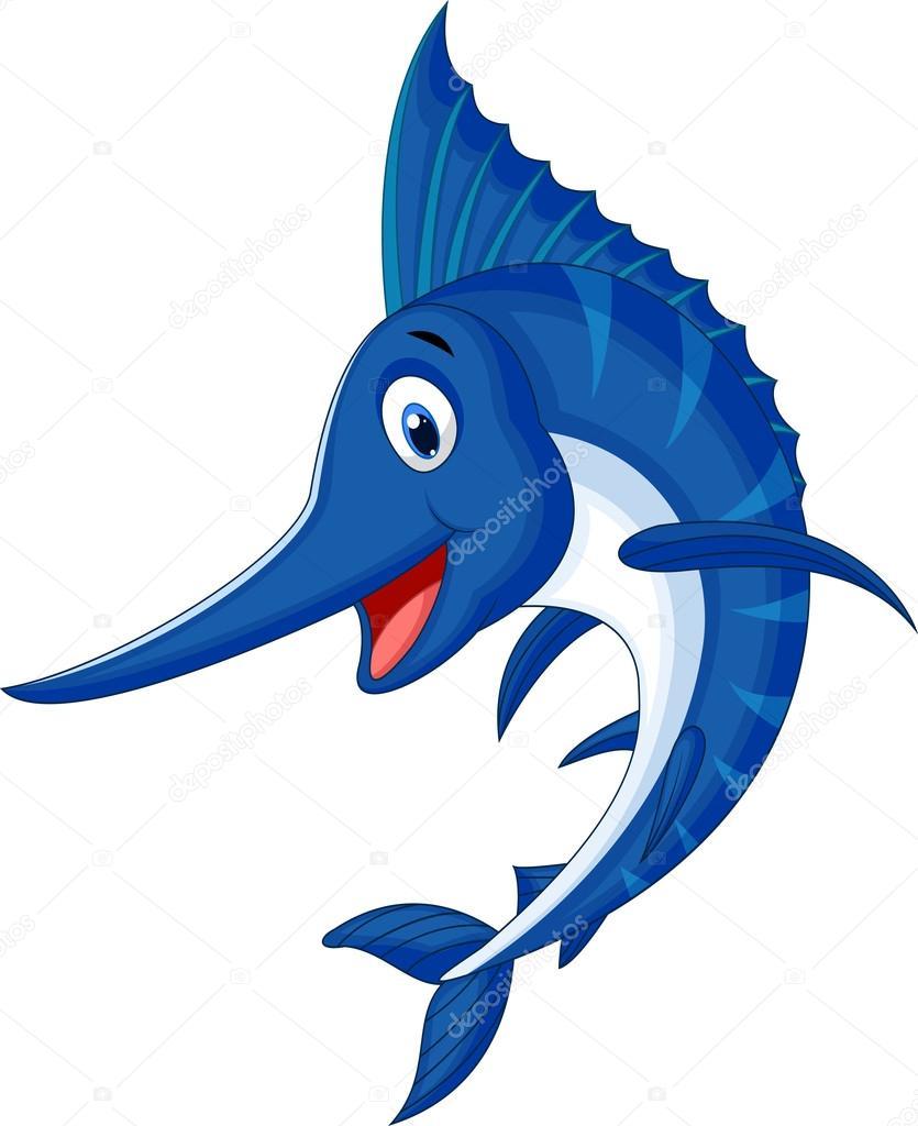 Pez espada vector de stock tigatelu 33879671 for Curiosidades del pez espada