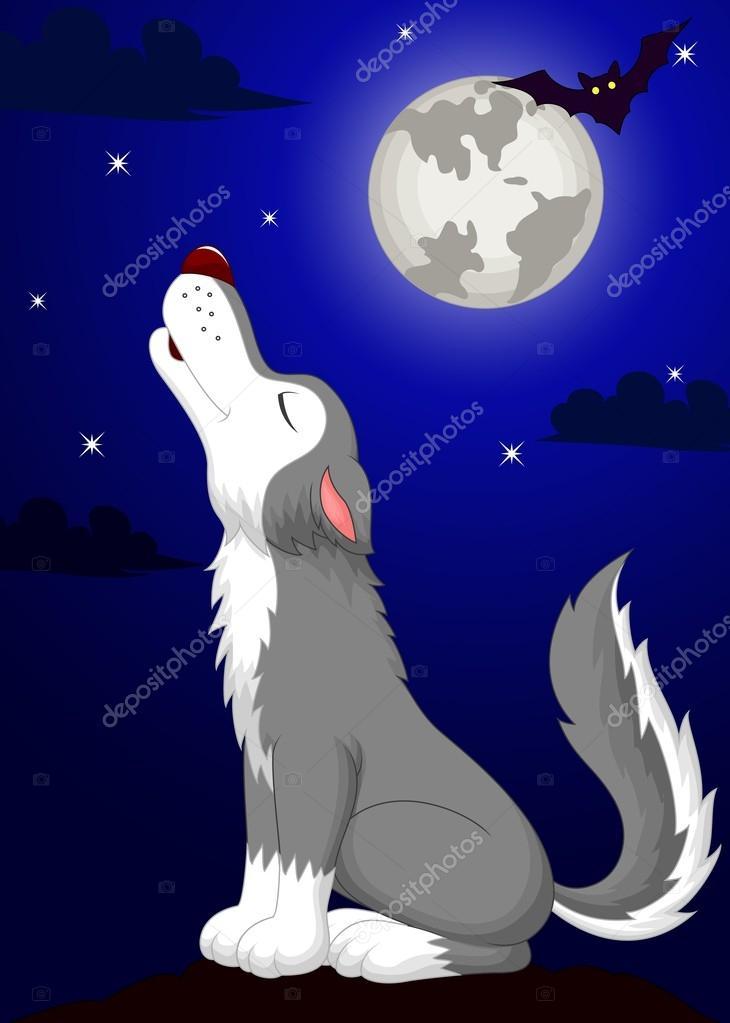 dibujos animados de lobo aullando vector de stock wolf vector logos wolf vector art