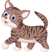 Photo Cute cat cartoon