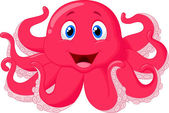 Photo Cute octopus cartoon