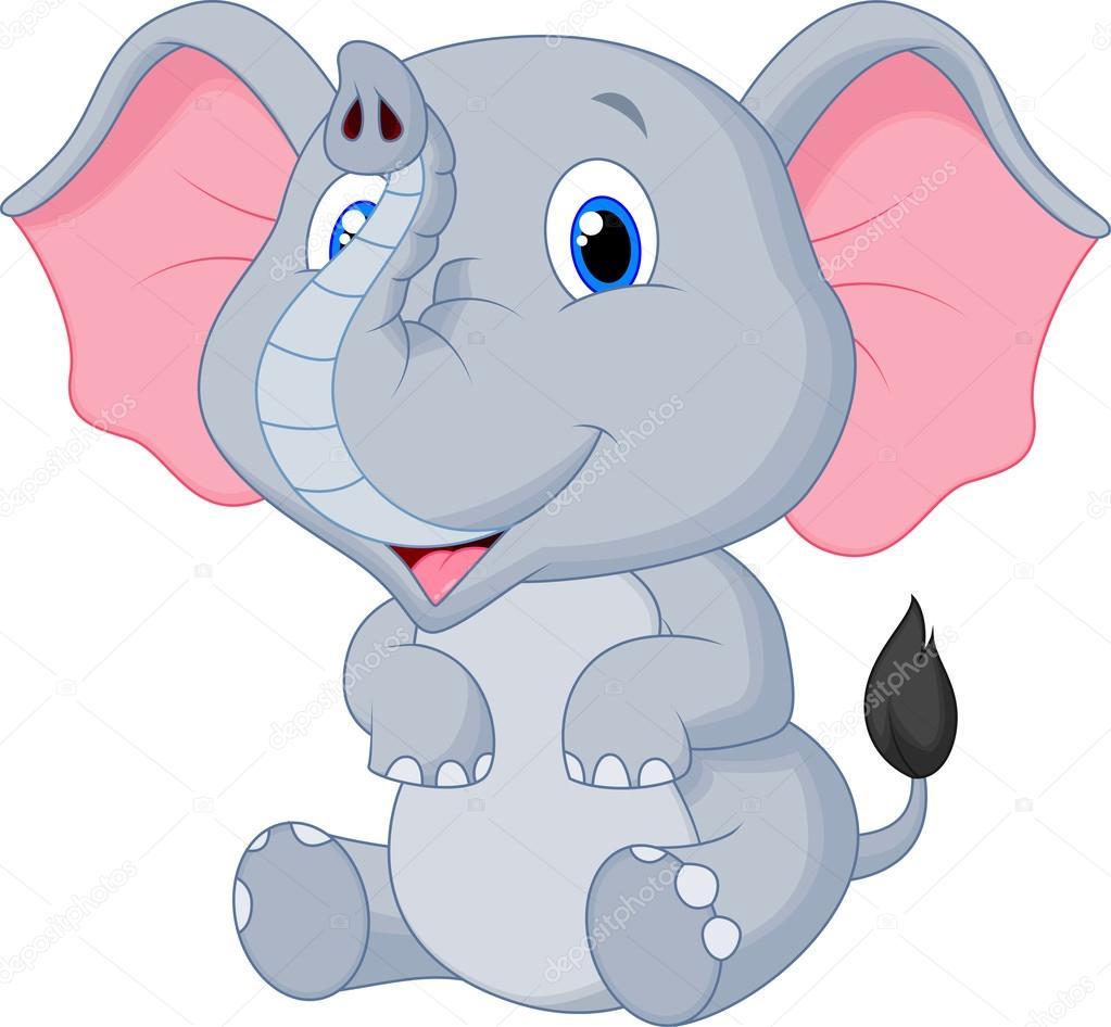 Áˆ Cartoon Of Baby Stock Animated Royalty Free Baby Elephant Cartoon Pictures Download On Depositphotos