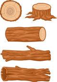 Dřevěný