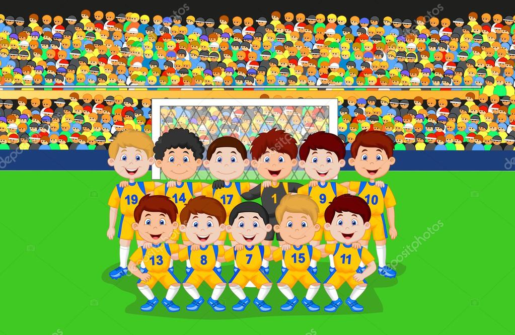 Football Field Cartoons and Comics  funny pictures from