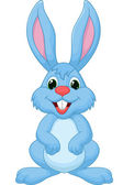 Photo Cute rabbit cartoon