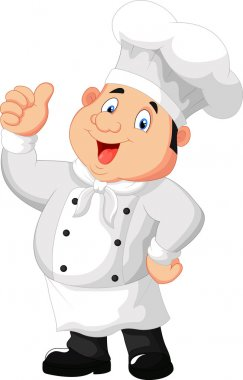 Chef with thumb up