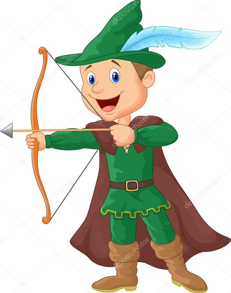 Robin hood cartoon