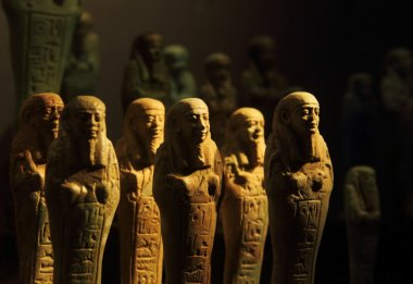 Egyptian mummy figurines