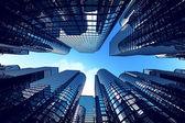 üzleti tornyok hatása halszem optika