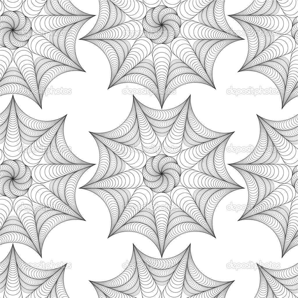 patrón sin costuras vector abstracto con figura simétrica alineada ...