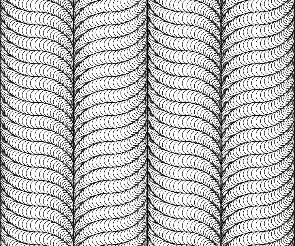 patrón sin costuras vector abstracto con sombreado 3d — Vector de ...