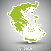 Fotografia Grecia autoadesivo di mao