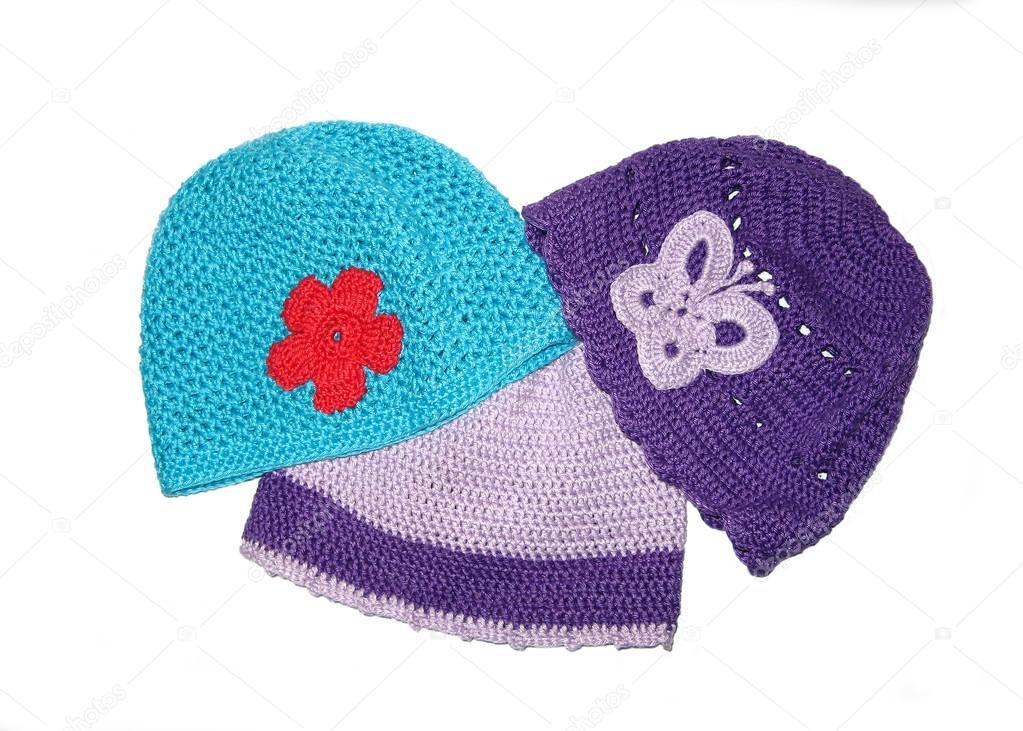 443df223 Crochet hat — Stock Photo © ludovikus1 #23060198