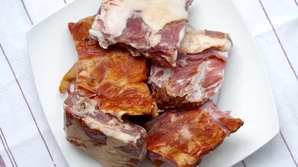 syrové maso žebírka