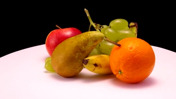 Different types of fruit.