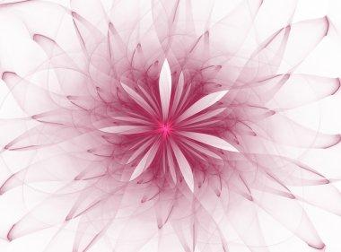 """Картина, постер, плакат, фотообои """"abstract fractal flower"""", артикул 42647231"""