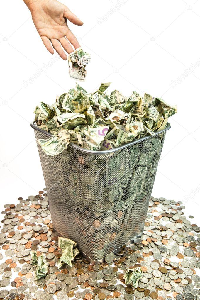 waisting money